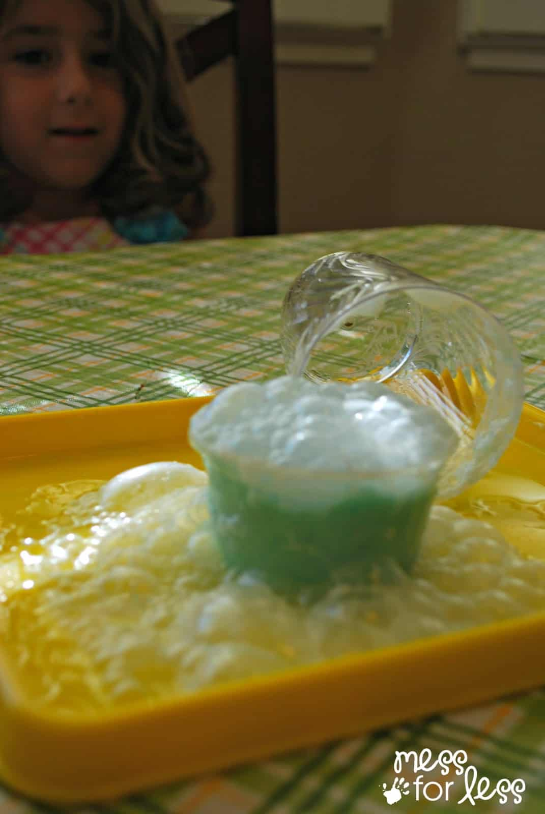 Erupting Play Dough
