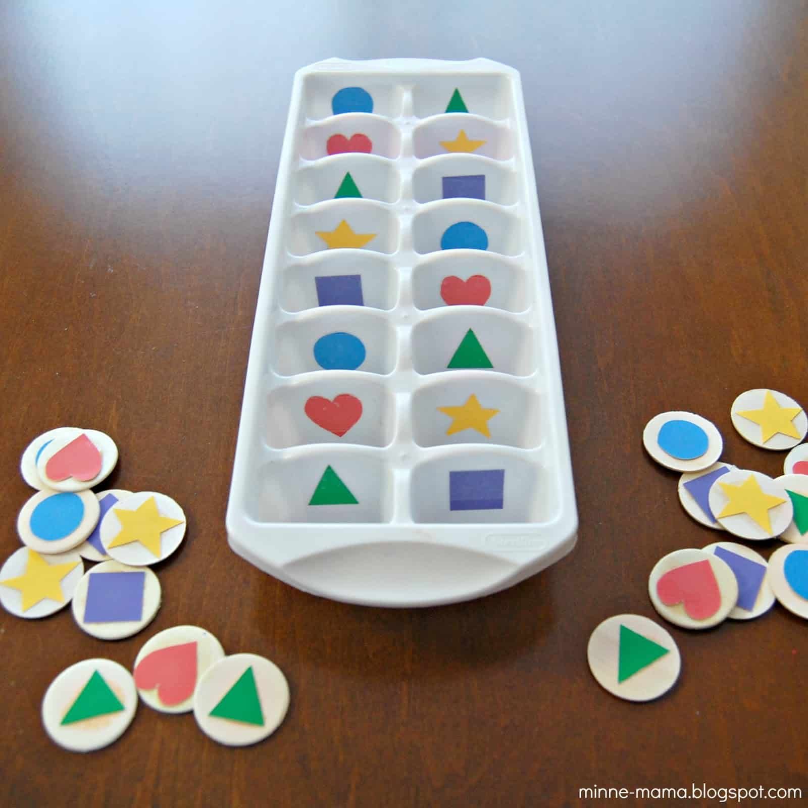 Shape Sorting For Toddlers