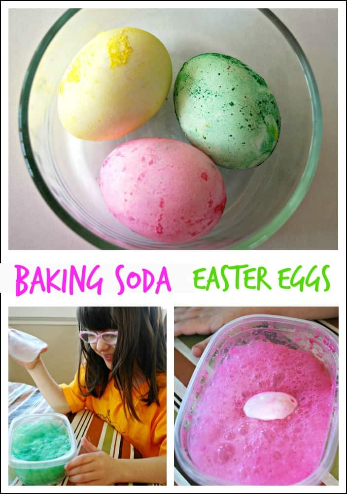 Baking Easter Eggs