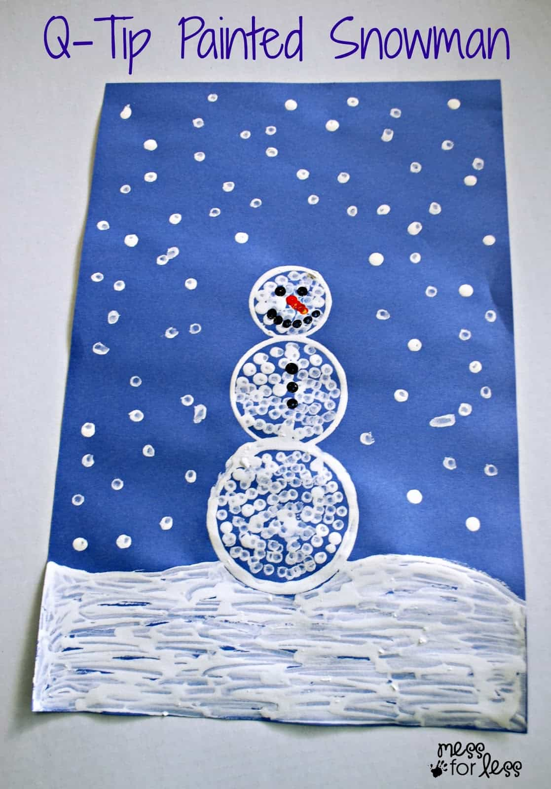 6 Foolproof Winter Crafts To Do With Kids