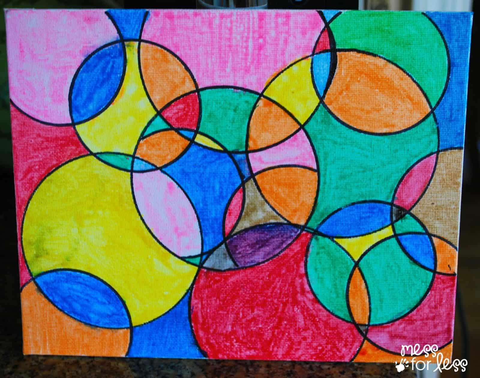 Stained Glass Art With Sharpies