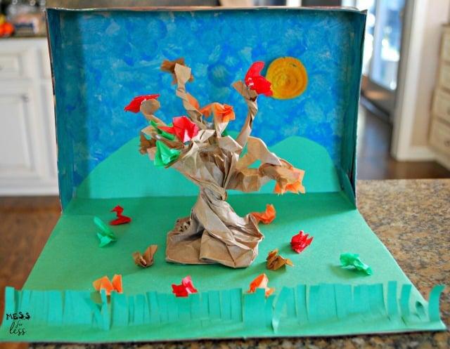 Project Diorama Box School Cereal
