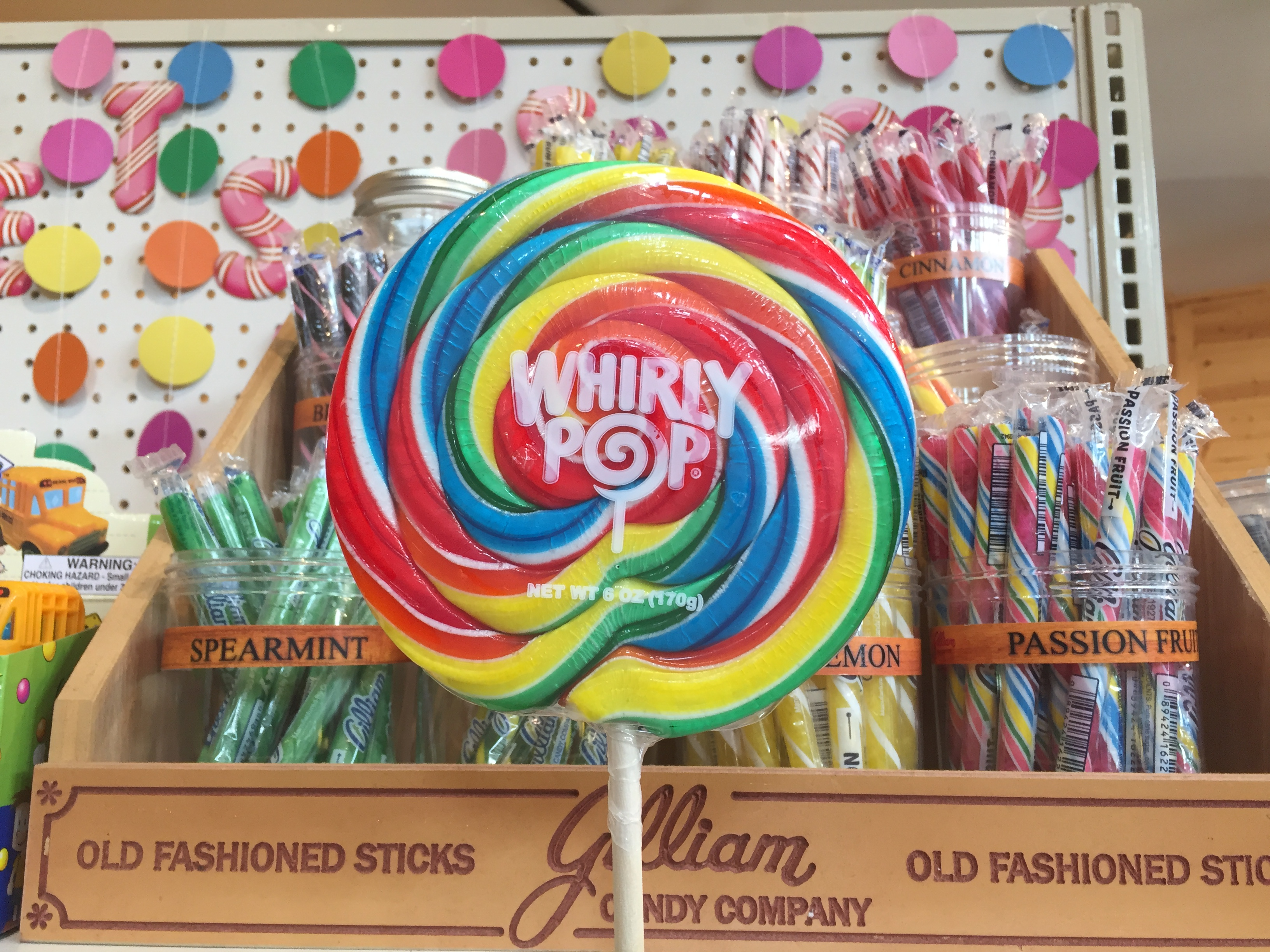 old fashioned candy at messicks farms market