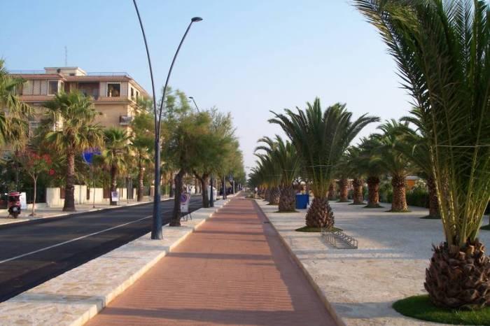 Promenade pedonale e ciclabile sul litorale nord