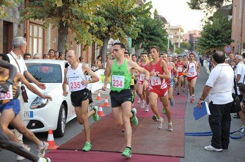 """Giro di boa a Rodì Milici del """"Progetto Corsa su Strada 2011"""""""