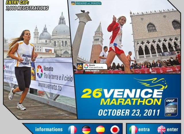 """Tutto pronto per la """"Venicemarathon"""", Messina è presente!"""