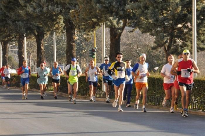 Prima maratona siciliana del 2012 a Ragusa