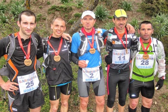 """Il parigino Collet vince la prima """"Sardinia Trail"""""""