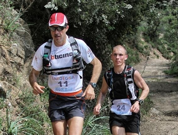 """Il francese Collet guida il """"Sardinia Trail"""""""