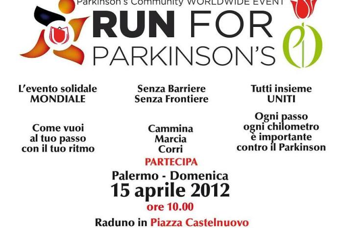Run for Parkinson's: si corre per la solidarietà