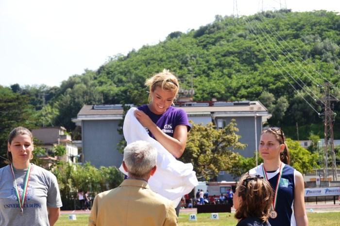 La martellista Silvia Salis stella dei Cnu di Messina