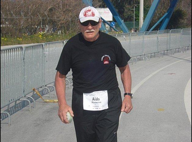 Ricevuto a Palazzo Zanca il maratoneta d'Italia