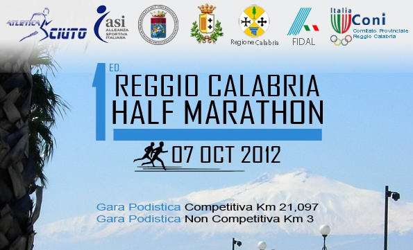 """Il 7 ottobre la """"Reggio Calabria Half Marathon"""""""
