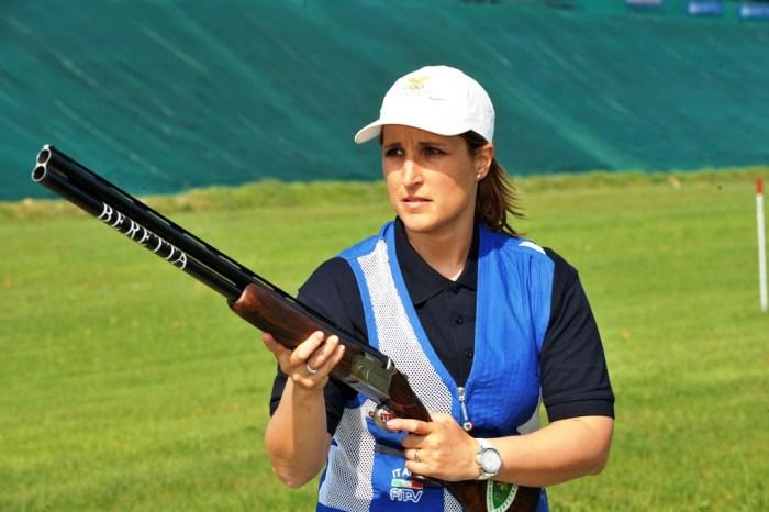 Chiara Cainero: altro oro olimpico a Castelbuono