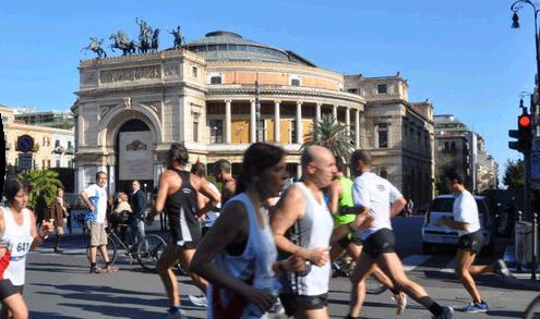 Oltre 1.500 atleti alla Maratona di Palermo