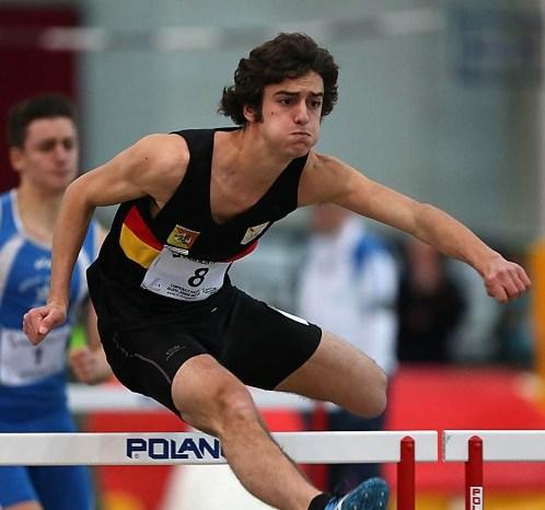 Giuseppe Biondo Campione Italiano Indoor Allievi