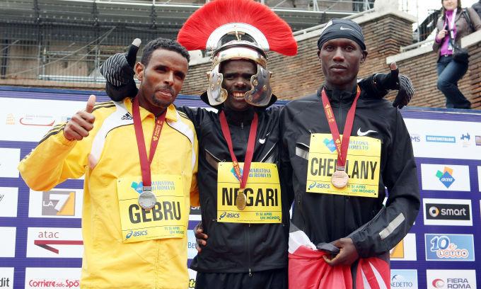 Dominio africano alla Maratona di Roma