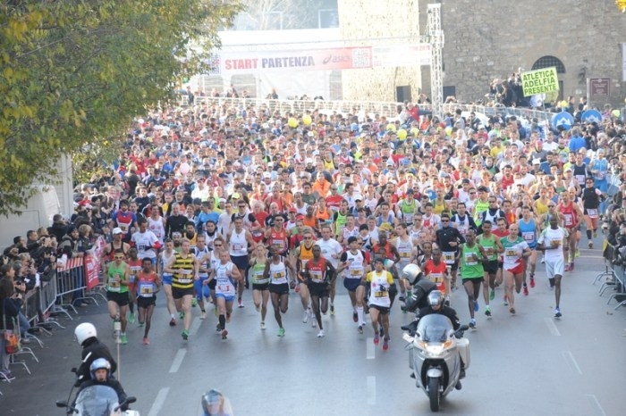 La Firenze Marathon va oltre gli 11 mila iscritti
