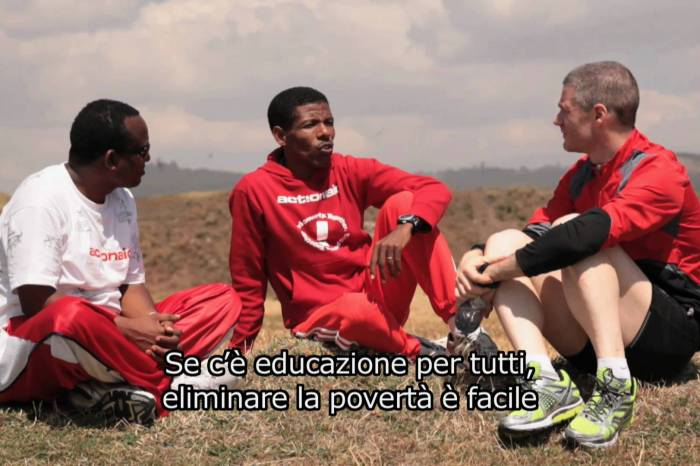 ActionAid incontra Haile Gebrselassie