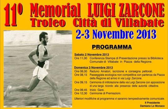 """Presentazione dell'11° """"Memorial Luigi Zarcone"""""""
