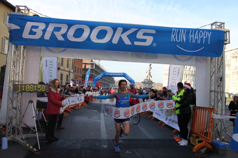 Massimo Leonardi vince la Maratona di Pisa