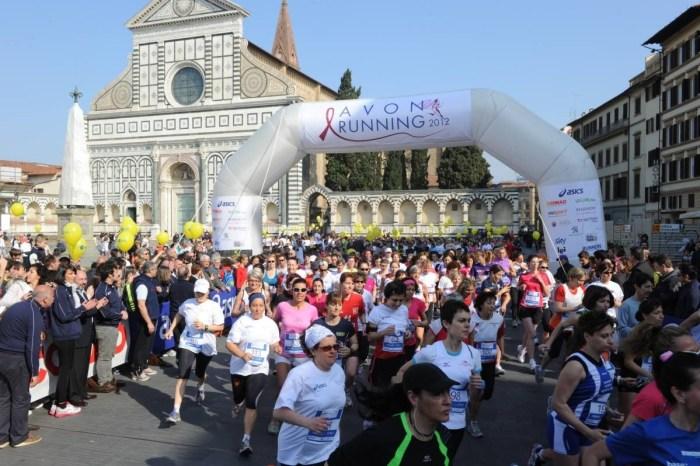 A Firenze torna l'Avon Running per sole donne