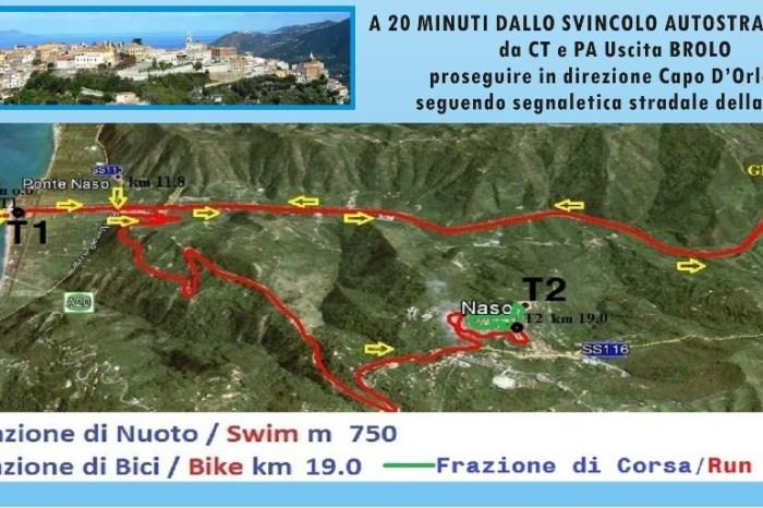 """Tutto pronto per il """"Triathlon Sprint Città di Naso"""""""