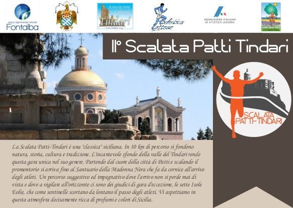 """II Scalata Patti-Tindari"" tra sport, turismo e cultura"