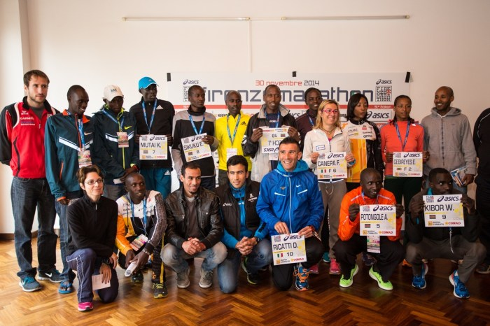"""Firenze Marathon"", presentati i top runners"