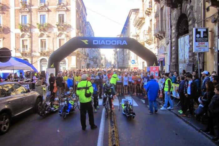 """Franco Carpinteri e Tatiana Betta primi alla """"Maratonina di Catania"""""""