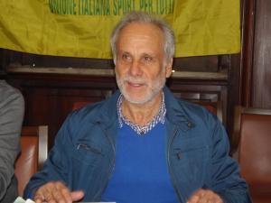 L'assessore allo sport Sebastiano Pino