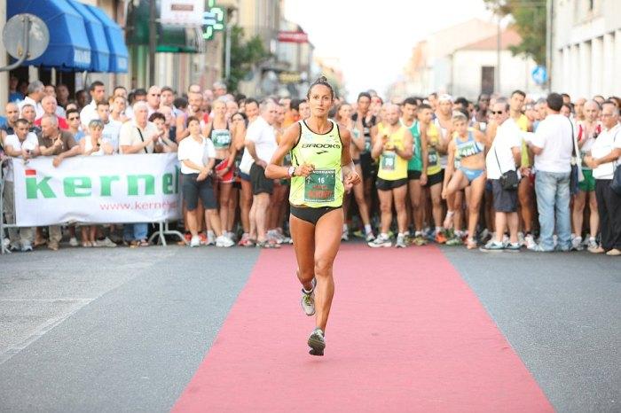 Katia Scionti oro ai Campionati Italiani Master di 10 km