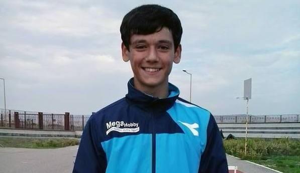 Samuele Licata al raduno della Nazionale Under 20