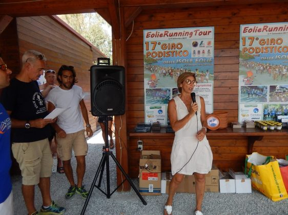 Premiazione 17° Giro Podistico delle Isole Eolie - 1