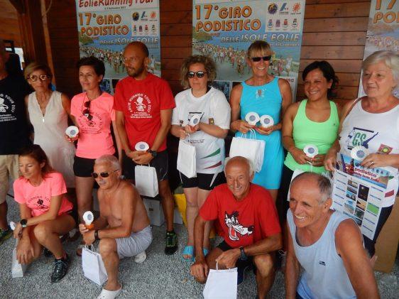 Premiazione 17° Giro Podistico delle Isole Eolie - 31