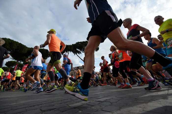 Maratona Roma: oltre 14.000 runners al via nella Capitale