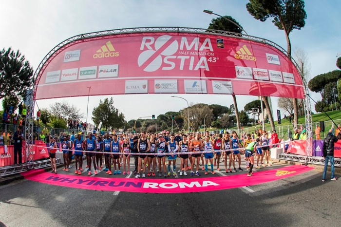 """RomaOstia 2018"": 11500 atleti al via l'11 marzo"