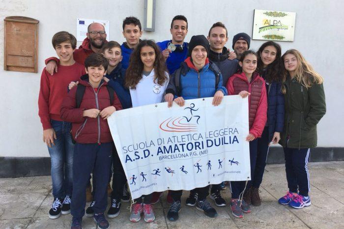 Storica qualificazione per gli Allievi della Duilia ai Tricolori di Cross