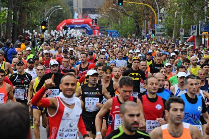 Record di maratoneti italiani nel 2017