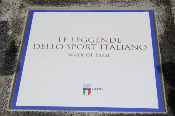 Luigi Beccali nella Walk of Fame