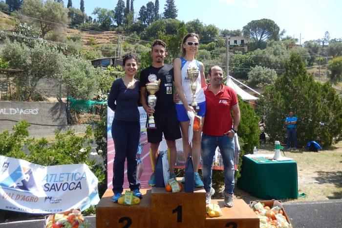"""Falcone e Sukharyna primi alla """"5^ Val d'Agrò Running"""""""