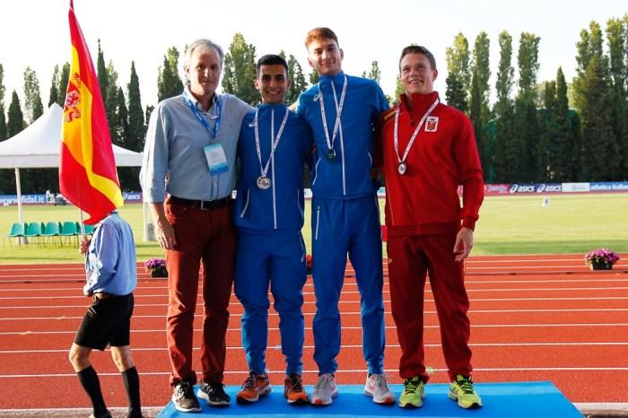 Randazzo oro, Artuso e Chilà argento a Campionati del Mediteranneo