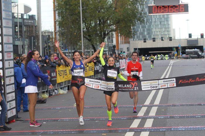 "Sara Galimberti prima alla ""Milano21 Half Marathon 2018"""