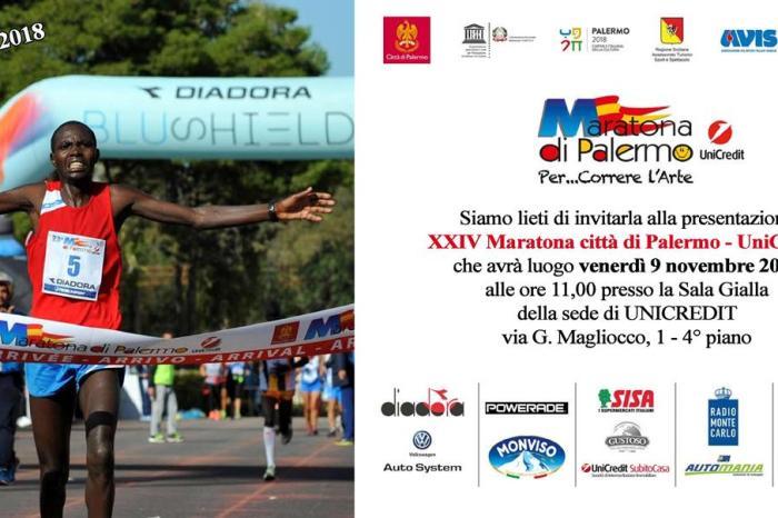 """Presentazione della """"24^ Maratona città di Palermo"""""""