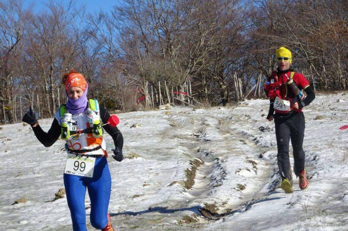 La sfida degli Ultra running ai Nebrodi tra sentieri innevati