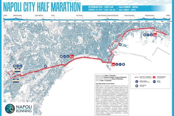 """Napoli City Half Marathon la gara con più km """"frontemare"""" d'Europa"""