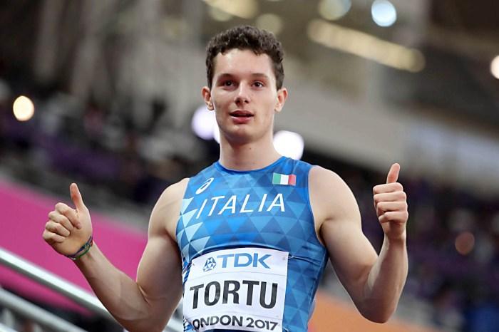 Filippo Tortu terzo al meeting indoor di Berlino
