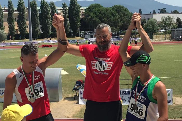 Oro per Luca e Gilotti ai Campionati Italiani Master