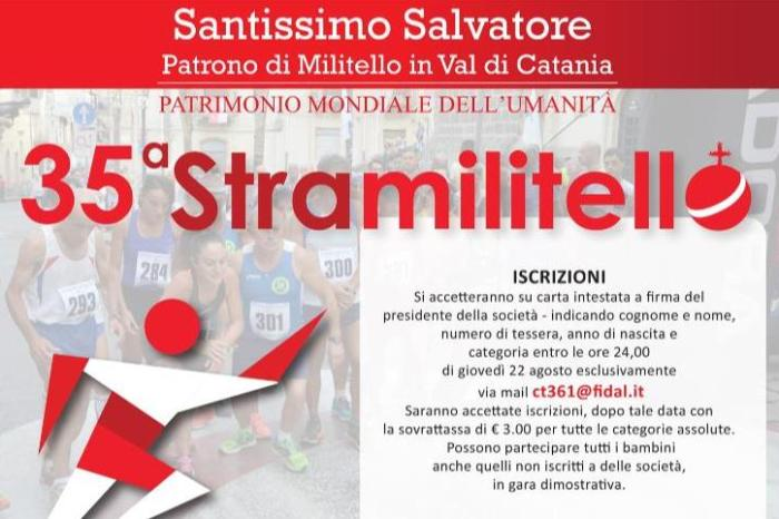 "Tutto pronto per la ""35^ Stramilitello"""