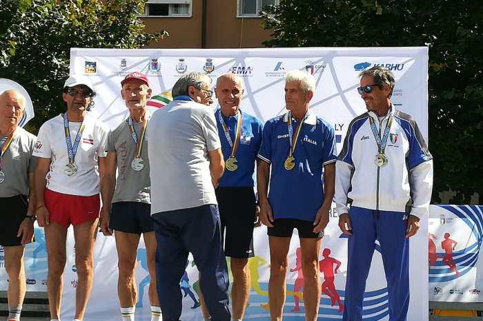 Gallo, Ruggeri, Betta e Puglisi sul podio agli Europei Master